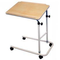 Split Leg Overbed Table with Castors
