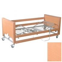 Primacare Pisces Bed with integral side rails BEECH