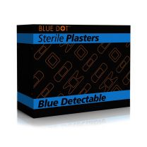 Blue Detectable Assorted Plasters