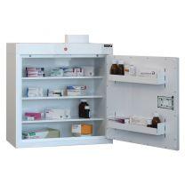 Drugs Cabinet with 3 shelves/2 door trays/1 door