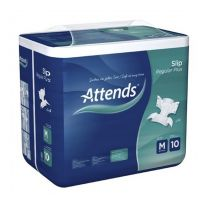 Attends Slip Regular Plus 10 Medium - Pack 14