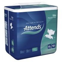 Attends Slip Regular Plus 10 Extra Large - Pack 14