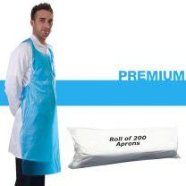 "PrimaCareâ""¢ Premium Disposable Aprons on a Roll - Blue"