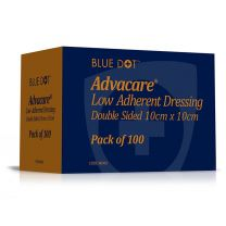 Advacare Low Adherent Double Sided Dressing - 10 x 10cm