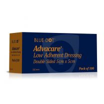 Advacare Low Adherent Double Sided Dressing - 5 x 5cm