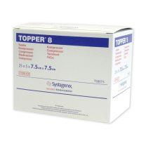 Topper 8 Non-Woven Sterile Swabs - 7.5 x 7.5cm