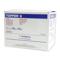 Topper 8 Non-Woven Sterile Swabs - 10 x 10cm