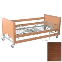 Primacare Pisces Bed with integral side rails WALNUT