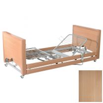 Primacare Pisces Low Bed with Integral Side Rails OAK