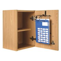 Self Administration Wall Cabinet (Key to Differ) - 1 Rack