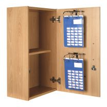 Self Administration Wall Cabinet (Key to Differ) - 2 Racks