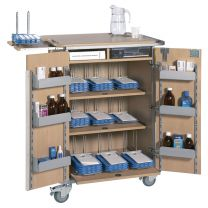 Monitored Dosage System (MDS) Trolley - Large (9 Racks)