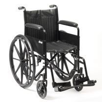 Wheelchair Self Prop 45cm(18inch( puncture proof tyres ) 115kg (18St)