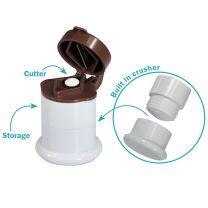 3 in 1 Pill Cutter, Crusher & Storage