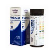 Valutest 10 Urinalysis Reagent Strips
