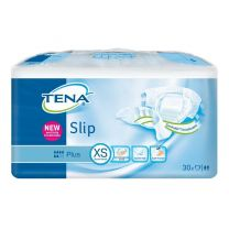 Tena Slip - X Small ( Textile Back ) - Pack 30
