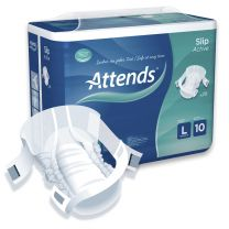 Attends Slip Active 10 Large - Pack 28