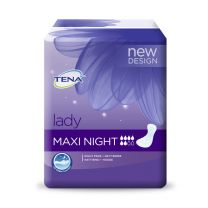 Tena Discreet Maxi Night - Pack 6