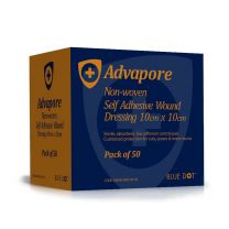 Advapore Non-Woven Self Adhesive Wound Dressings - 10 x 10cm
