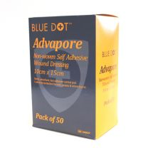 Advapore Non-Woven Self Adhesive Wound Dressings - 10 x 15cm