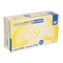 Gloves Synthetic Powder Free Medium - Pack 100